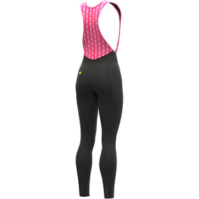 Alé Cycling Solid Essential Salopette Lunga Donna, nero
